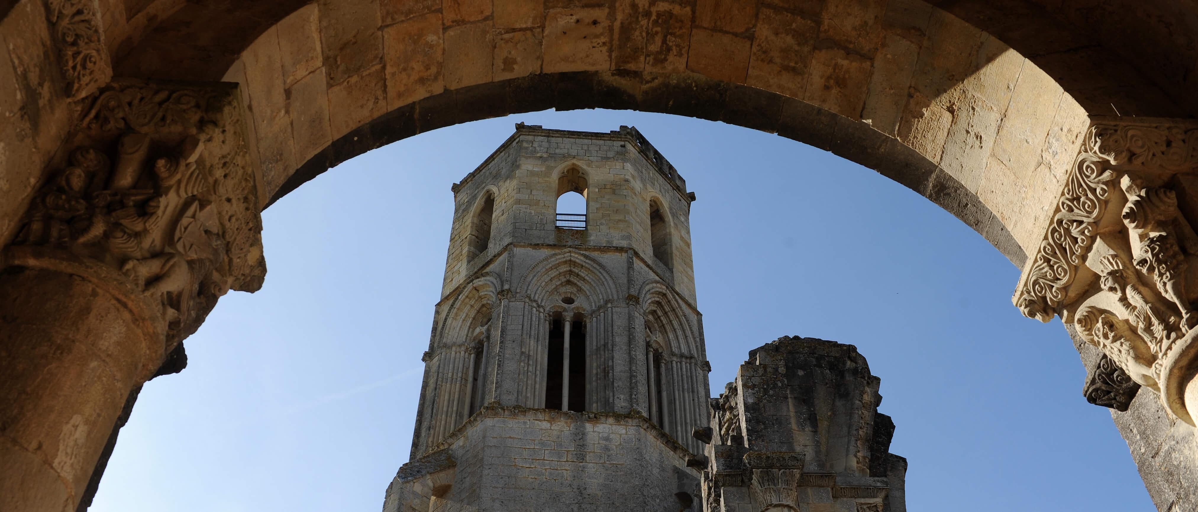 Ancienne abbaye Notre-Dame-de-la-Sauve-Majeure©ACIR / JJ Gelbart