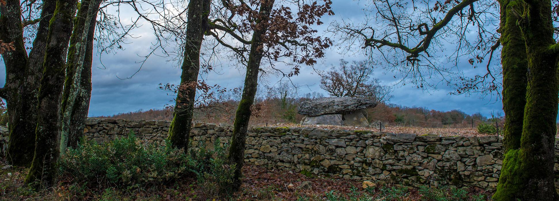 Dolmen de Pech Laglaire 2©ACIR / JJ Gelbart