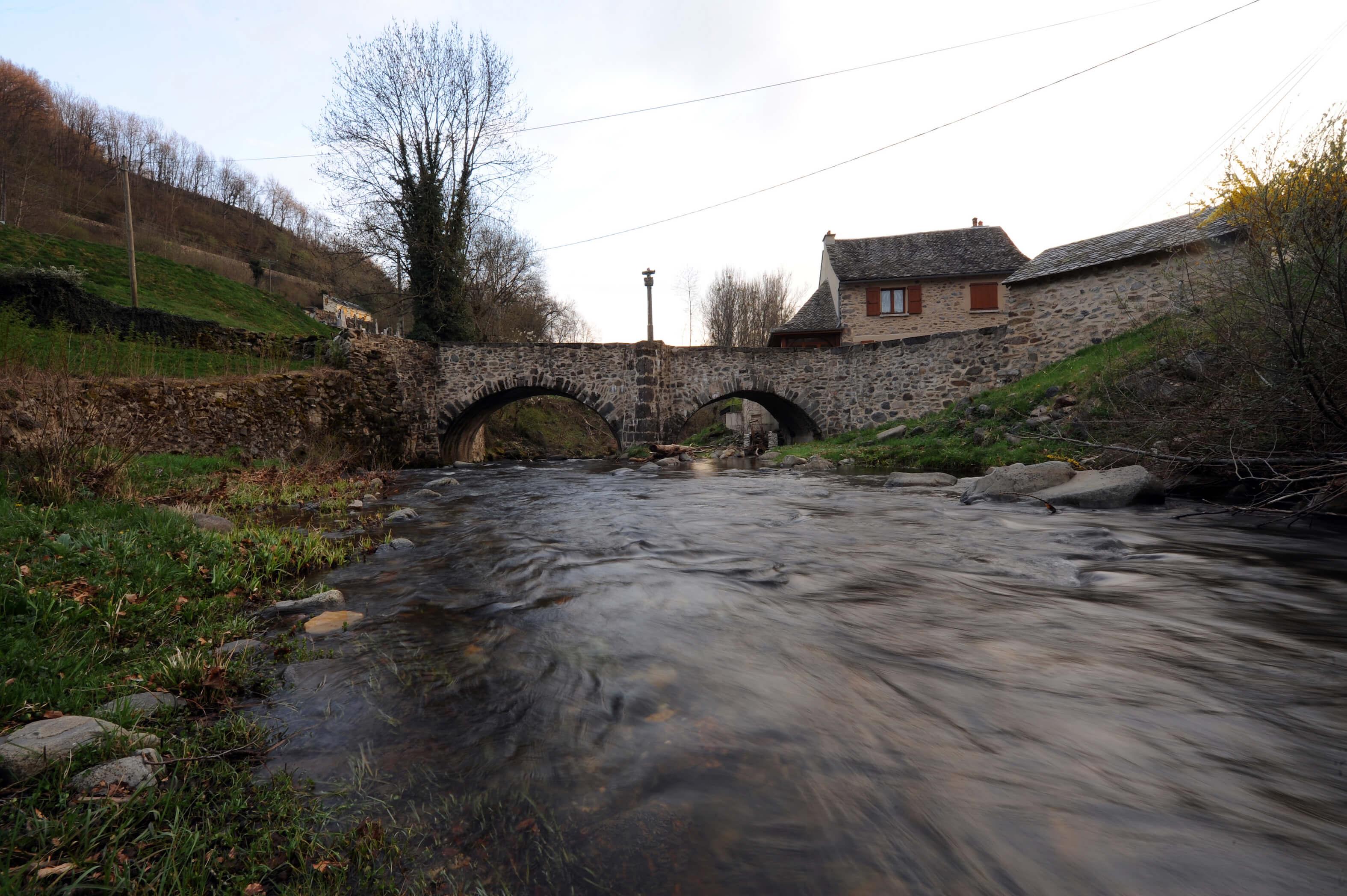 Pont dit  des pèlerins  sur la Boralde©ACIR / JJ Gelbart
